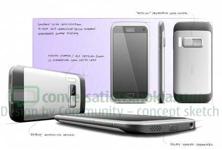 Nokia Design by Community / Nokia U sketches