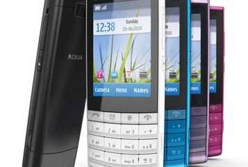 Nokia X3 mobile phone