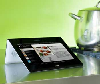 AlessiTab tablet computer, running Android 2.1