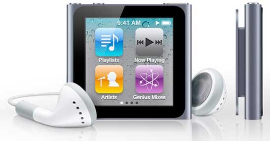 Apple iPod nano, Apple iPod nano 6th generation