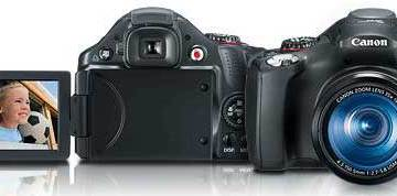Canon Powershot SX30 digital camera