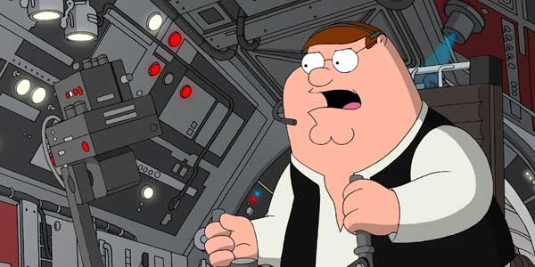 Family Guy: It's a Trap!, Family Guy vs Star Wars