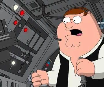 Family Guy: It's a Trap!, Family Guy vs Star Wars