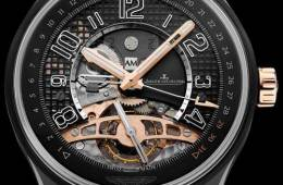Jaeger-LeCoultre AMVOX3 Tourbillon GMT watch
