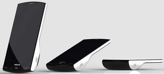Nokia Kinetic concept mobile phone