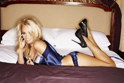 Pamela Anderson and the Nokia N8