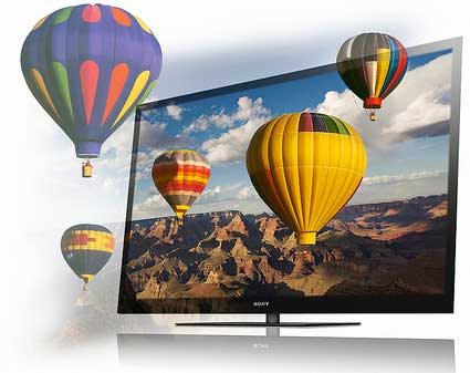 Sony Bravia NX710 and NX810 series LED 3D TV