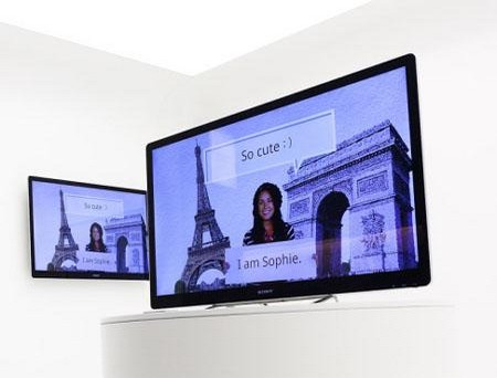 Sony's Google TV demonstration