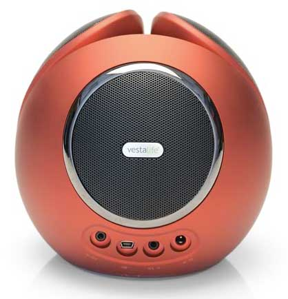 Vestalife Firefly iPod dock - rear