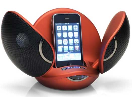 Vestalife Firefly iPod dock - open