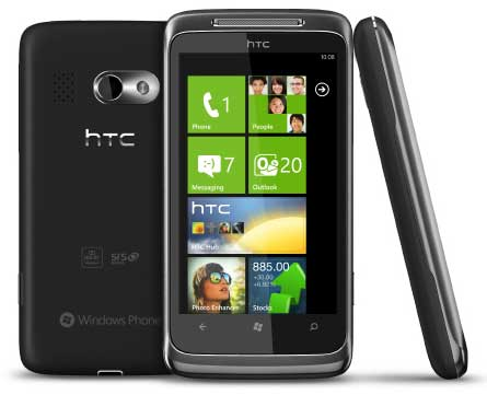 HTC Surround mobile phone, HTC Surround smartphone