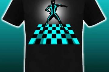 Threadless TRON T-shirt design competition, TRON Javolta