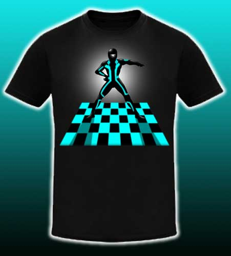 Threadless TRON T-shirt design competition, TRON Javolta