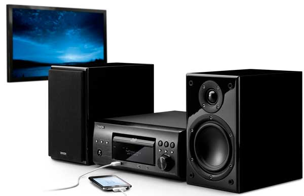 Denon D-X1000BD Blu-ray mini home theatre system