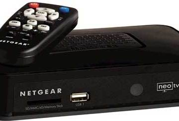 Netgear NeoTV media player
