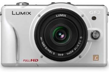Panasonic Lumix DMC-GF2 Micro Four Thirds camera
