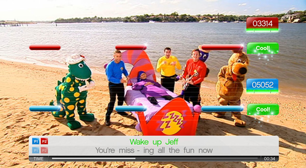 SingStar The Wiggles for PlayStation 3 screenshot