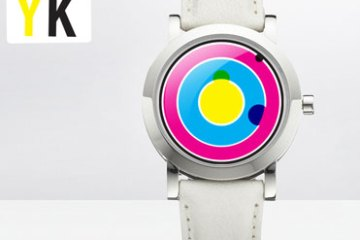 Tokyoflash CMYK Color Analog Watch Design