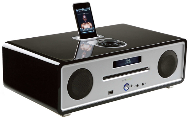 Vita Audio R4 - iPod dock, CD player, FM radio
