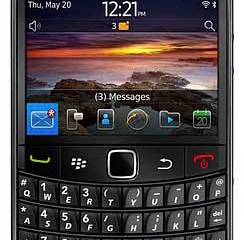 BlackBerry Bold 9780 smartphone - front view