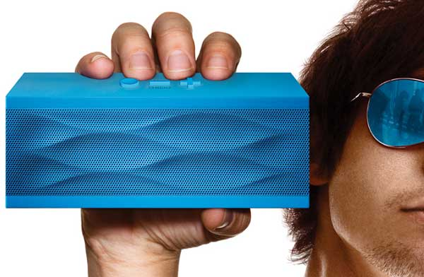 JAMBOX by Jawbone wireless speaker and speakerphone colors