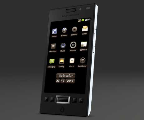 Lumigon T1 Android-powered smartphone