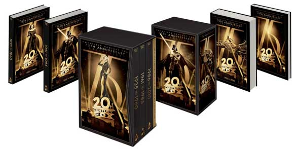 Twentieth Century Fox 75th Anniversary Collection DVD boxed set