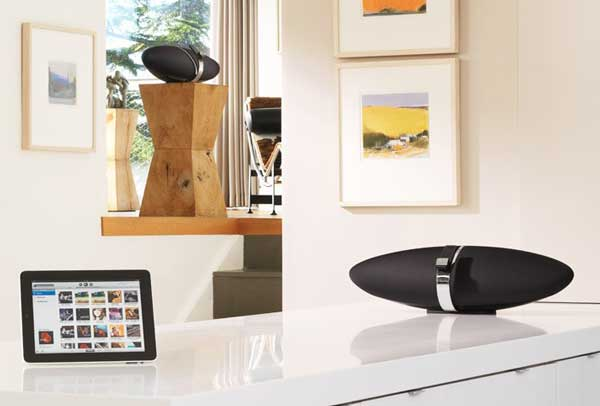 Bowers & Wilkins Zeppelin Air iPod dock - wireless iPod dock