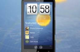 HTC HD7 Windows 7 phone