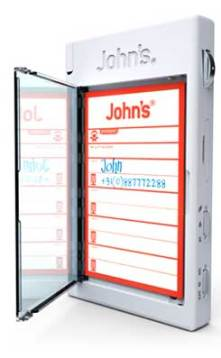 John's Phone, the address book on the bottom of the mobile phone