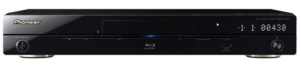 Pioneer BDP-430 Blu-ray player, 3D Blu-ray player