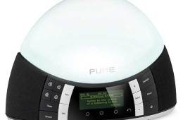 Pure Twilight digital radio, white light colour