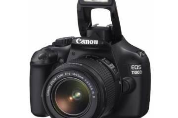 Canon EOS 1100D digital SLR camera