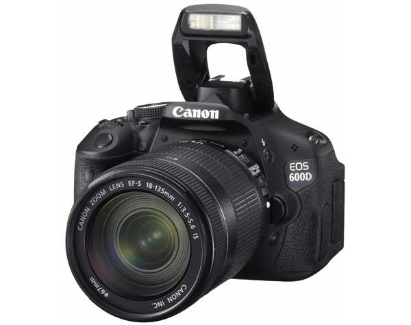 Canon EOS 600D digital SLR camera