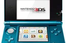 Nintendo 3DS, in Aqua Blue
