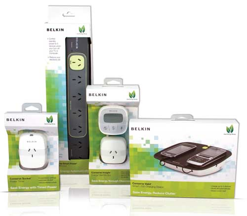 Belkin's Conserve range of energy-saving products