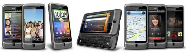 HTC Desire Z, Android Froyo - touchscreen and QWERTY