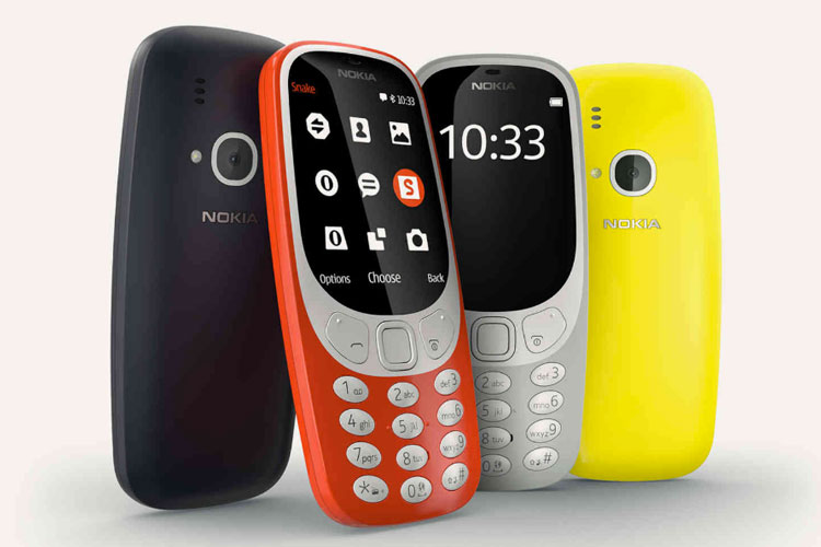 Nokia 3310 reboot colour range
