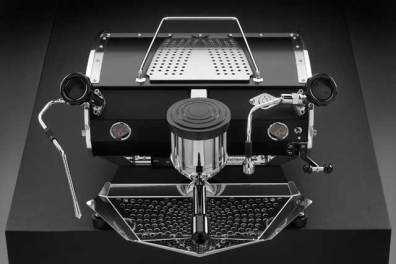 Kees Van Der Westen Speedster coffee machine, top down view