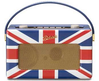 Roberts Union Jack Revival DAB/FM radio