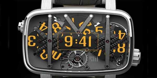 4N MVT01/42 watch closeup
