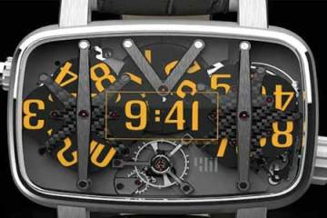 4N MVT01/42 watch closeup