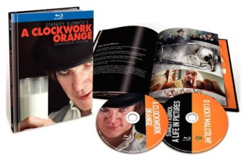 A Clockwork Orange 40th Anniversary Edition on Blu-ray