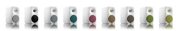 Amphion Ion speakers, colour range