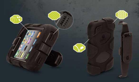 Griffin Survivor - heavy duty iPhone 4, iPod Touch & iPad 2 case