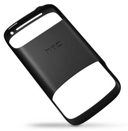 HTC Desire S, rear view