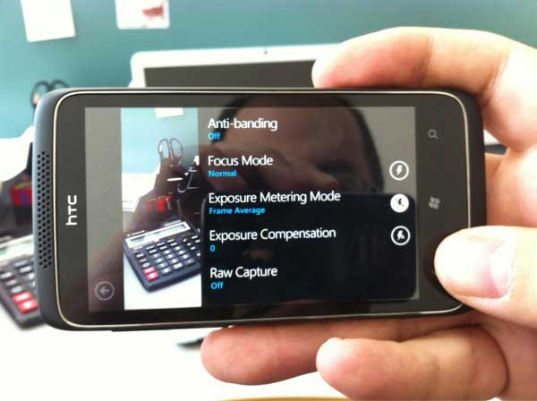 Mystery HTC Windows Phone with 12 megapixel camera