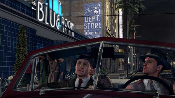 L.A. Noire screenshot, Los Angeles