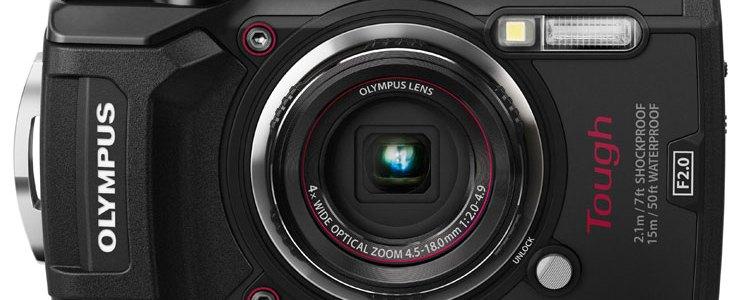 Olympus Tough TG-5 camera black front