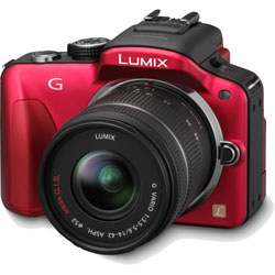 Panasonic Lumix DMC-G3 - red